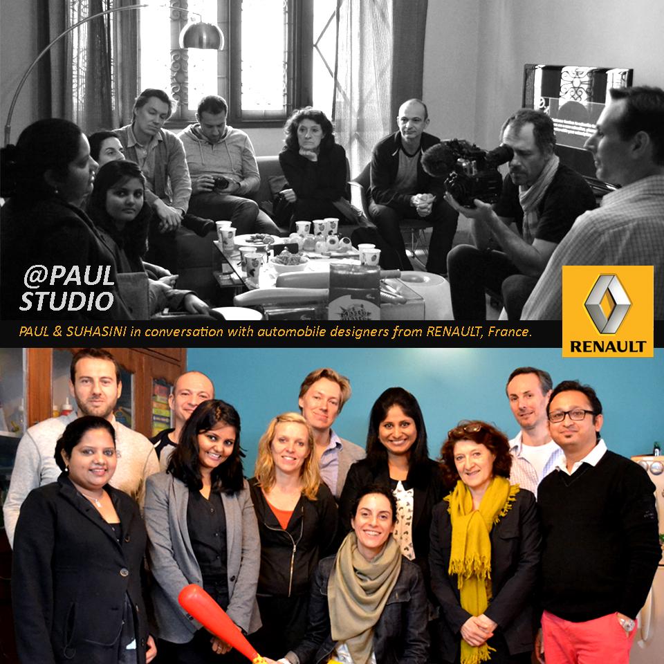 Ranault designers at PAUL STUDIO 2014