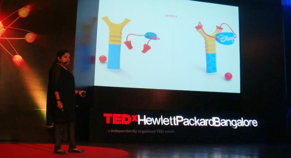 Suhasini Paul Toy Designer_ TED x Speaker HP bangalore