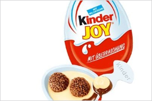 kinder joy new launch in india