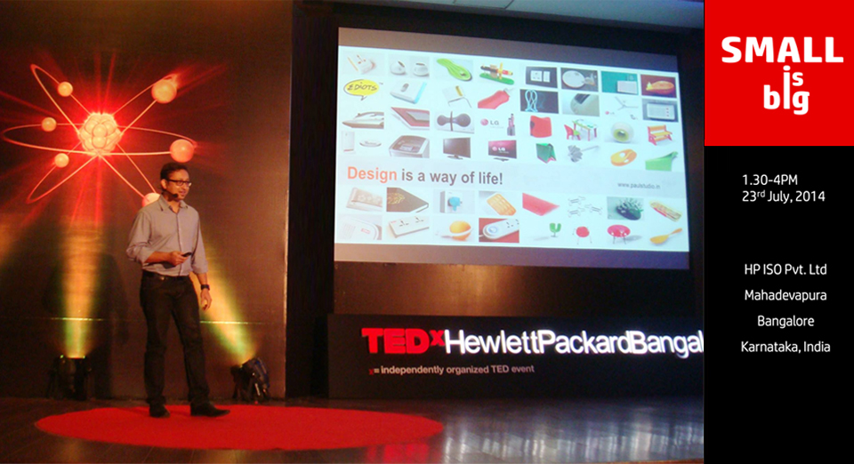 paul sandip TED X speaker HP Bangalore