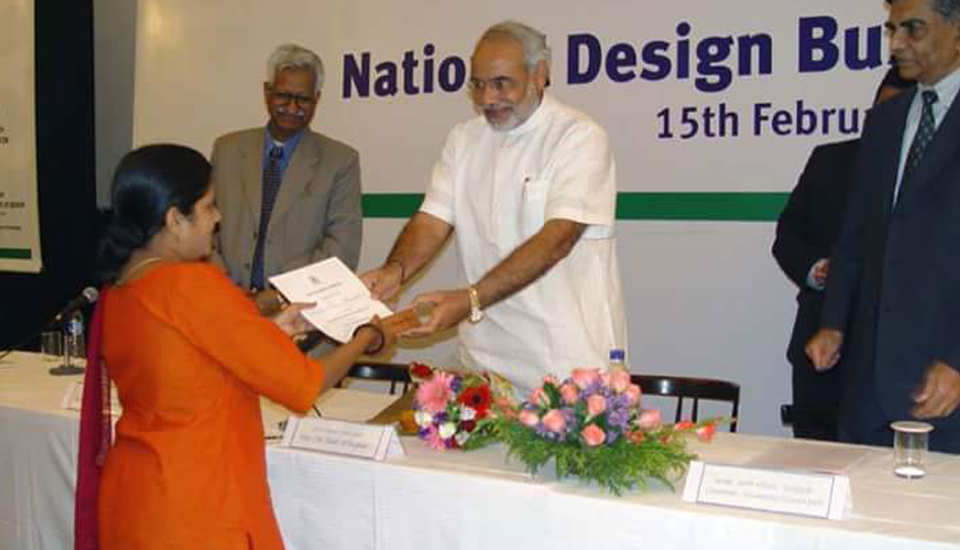 suhasini-paul-toy-designer-awarded-by-narendra-modi-india-nid