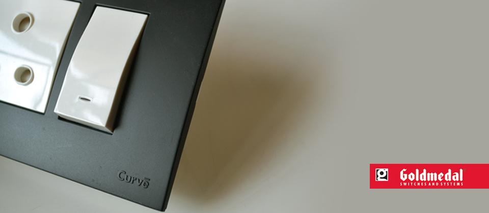 Paul Studio Curve Switch Plate Design