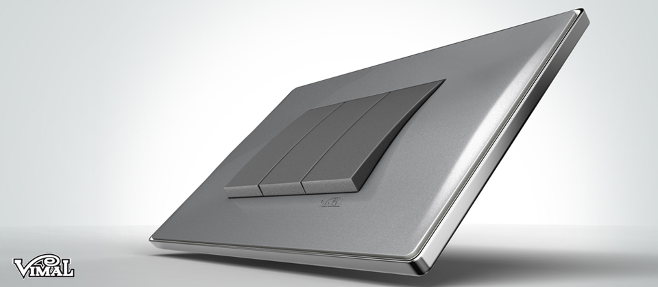 Paul Studio Wave Premium Switch Plates