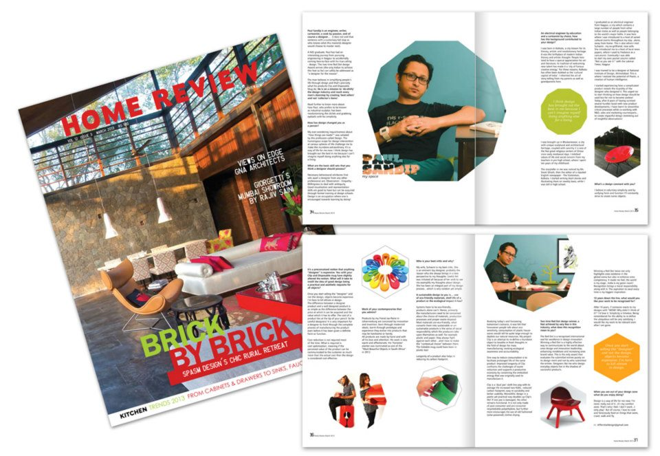 Home Review | March'13