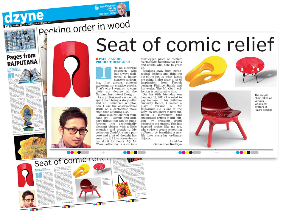Deccan Chronicle April '12