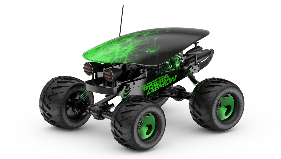 remote controlled toy car design