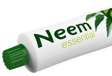 Neem ~Toothpaste Packaging Graphics