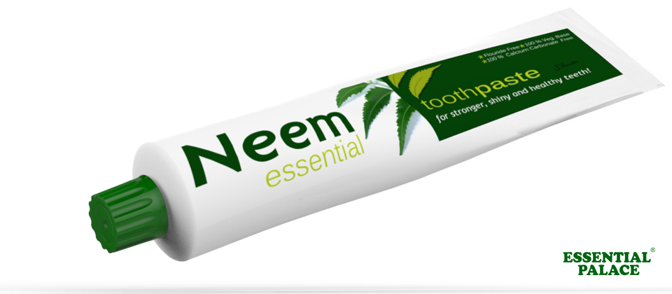 Paul Studio Neem Toothpaste Packaging Graphics