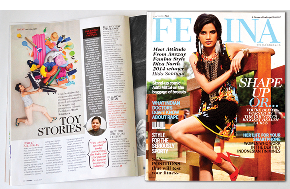 Femina | June'14 issue