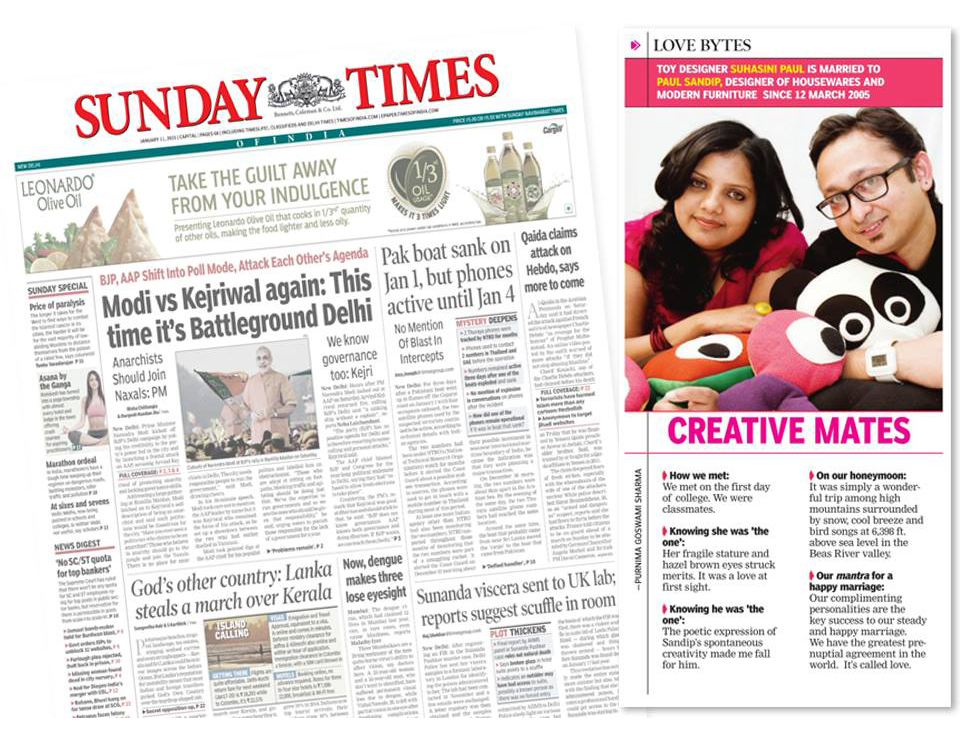 Sunday Times | Jan'15